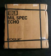 NEW Rogue 10 lb ECHO MIL SPEC Bumper Plate PAIR - 20 lbs TOTAL