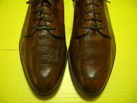 Men's Dress Shoes MEZLAN Lace Up Oxford SZ 9 M Brown Leather Uppers