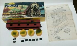 Athearn 1475 HO Scale Heinz Pickle Car with Tanks Kit yellow box , used #-73