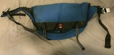 "Chrome Industries CITIZEN 13""x22""x7"" Large Belt Buckle Messenger Bag - Blue"