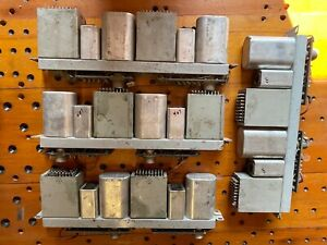 4  Western Electric 2 Chan 407A Tube Preamps  Unused 45+ years !!! (Dealer lot!)