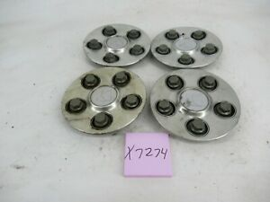 "Center Caps Hubcaps OEM Saturn Vue 04-07 9593499 5 Spoke 17"" Wheel Set"