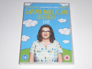 Sarah Millican - Outsider - Live (2016) - NEW / SEALED GENUINE DVD Sara Milican