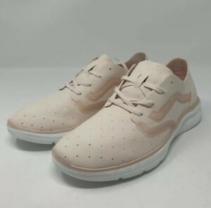 Vans Iso 2 Rapidweld Perf Delicacy Women's Size 8.5 White Runner Walking Comfort
