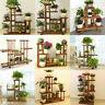 New 17-Design Tall XXL-Large Garden Wooden Plant Stand Planter Flower Pot Shelf