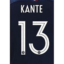 France 2018 Home Kante #13 Jersey Name Set