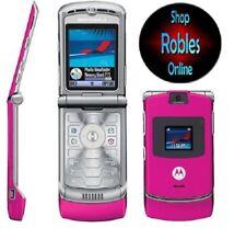 Motorola RAZR V3 Pink (Ohne Simlock) 4Band Bluetooth WAP MMS Original Razr GUT