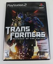 Transformers Revenge of the Fallen Sony PlayStation 2 2009 PS2 New and Sealed