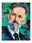 Jordan Peterson 18x12 poster print packaged and signed by artist Xilbertoart