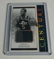 RODNEY HOOD - 2017/18 NATIONAL TREASURES - CENTURY - PATCH - GOLD - #7/10 -