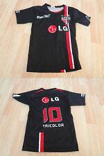 Youth Sao Paulo SPFC S Soccer Futbol Jersey (Black) Jersey
