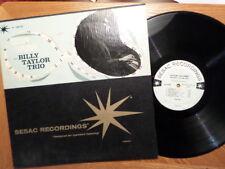 SESAC LP DG RECORD N 3301/02 MONO/BILLY TAYLOR TRIO/CUSTOM TAYLORED/VG/VG+ VINYL