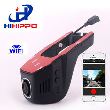 HIhippo Car DVR Dash Cam  Wifi, APP Support IOS & Android System Recorder DVR