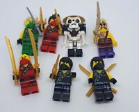 Lego Ninjago Minifigure Bundle & Accessories Lloyd Kai Sleven Cole Set 70753 A13