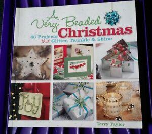 A very beaded Christmas craft book