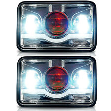 "2x 4x6"" DEMON-CREE LED Sealed Beam Headlight For H4651 H4652 H4656 H4666 H6545"