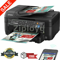 Epson All In One Printer Machine Fax Scanner Copier Wireless Laser Sharp Wi-Fi