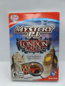 Mystery P.I.: The London Caper (Windows/Mac, 2010) Find the Stolen Crown Jewels