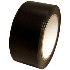 Black Vinyl Tape 2 inch x 36 yd. 1 roll. SPVC