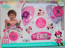 Baby activity table for girls Minnie Mouse Delight and Discovery.
