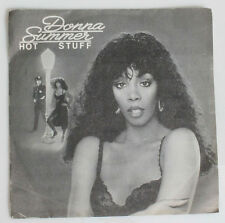 DONNA SUMMER HOT STUFF / JOURNEY RARE ORIGINAL 45 SPAIN 1979 RECORD