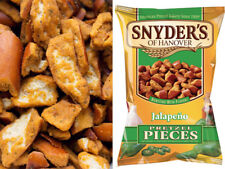 Snyders Pretzel Pieces Jalapeno 125g Pack of 10