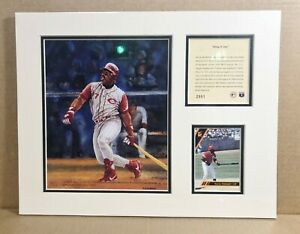 Cincinnati Reds Kevin Mitchell 1993 Baseball 11x14 MATTED Kelly Russell Print
