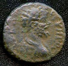 """Ancient Roman Colonial Coin """" Lucius Verus """" 161 - 169 A.D. 16 mm Diameter"""