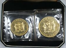1969 Jamaica Uncirculated Penny and Half Penny Set 100th Anniversary