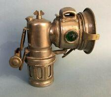 ANTIQUE MILLER CARBIDE BIKE LAMP vintage bicycle light Celotite No 1