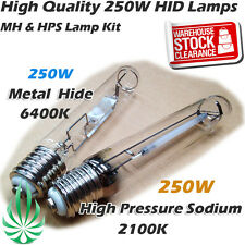 Hydroponics 250W Metal Halide (MH) Lamp And High Pressure Sodium Lamp (HPS) Kit