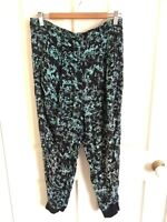 Scanlan Theodore Printed Silk Blend Pants, Sz 10, RRP 280( See Matching Top)