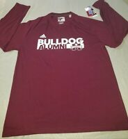 Mississippi State Bulldogs NEW XL Adidas  Sideline Grind Alumni LONG SLEEVED