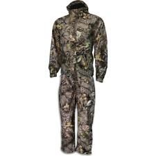 WFS World Famous Waterproof Warp Knit Packable Rain Suit ** Burley Camo ** Large