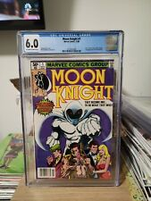 Moon Knight #1 Newsstand 1980 CGC 6.0 1st Bushman! 1st Khonshu!