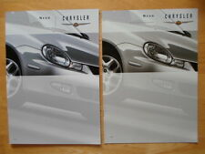 CHRYSLER Neon 2000 year Swiss Mkt prestige sales & specs brochures
