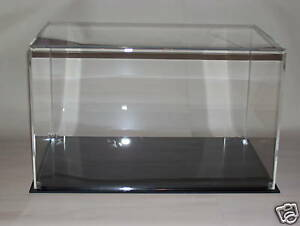 PERSPEX ACRYLIC MODEL DISPLAY CASE  330 X 200 X 200