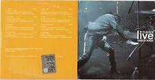 VASCO ROSSI CD promo VODAFONE Tracks Live COLORE GIALLO 2003 ITALY cardsleeve