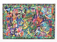 "James Rizzi ""Olympic Spirit"" 3-D Construction Lithograph"