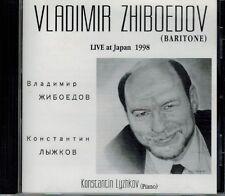 ZHIBOEDOV BARITONE LYZHKOV LIVE AT JAPAN 1998 ЖИБОЕДОВ ЛЫЖКОВ CD RUSSIAN OPERA