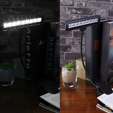 Clip Type 9 LED Charging Music Book With Charging Plug Music Score Light SXRAUN@