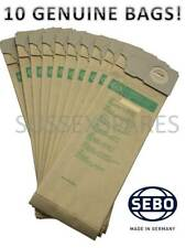 Genuine Sebo 1055 Aspirapolvere Hoover 10 Sacchetti in carta BS36 BS46 350 360 450 460