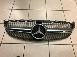 Mercedes W205 C Klasse Grill  Kühlergrill mit Stern AMG A2058880223