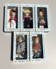 Vintage Ideal Shirley Temple Doll - 1983 Collection (Lot of 5)