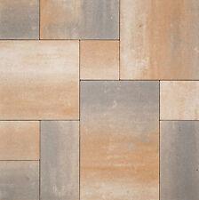Pflastersteine Muschelkalk, Terracotta Braun Gelb Anthrazit Großformat Beton 6cm
