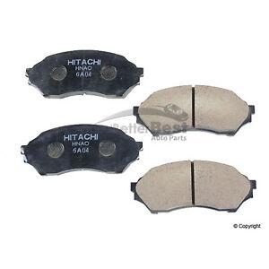 New Hitachi Automotive Disc Brake Pad Set Front NDP309 for Mazda Protege
