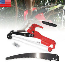 Extendable Tree Pruner Scissors Pruning Branches Blade Cutter Saw Garden Tool US