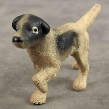 English Setter Pointer Dog Cast Iron Miniature Statue Paperweight