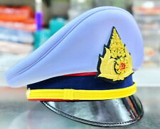 Royal Thai Army Officer Cap White Colonel Uniform Captain Soldier Thai Military