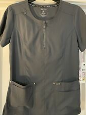 Koi Limited addition scrub top women's small color charcoal style Tula
